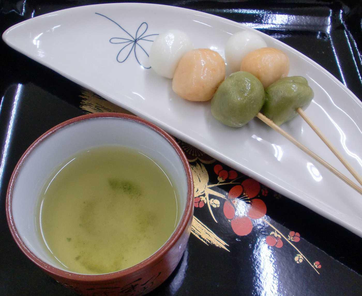 E.T's  Japanese sweet dumplings (dango)