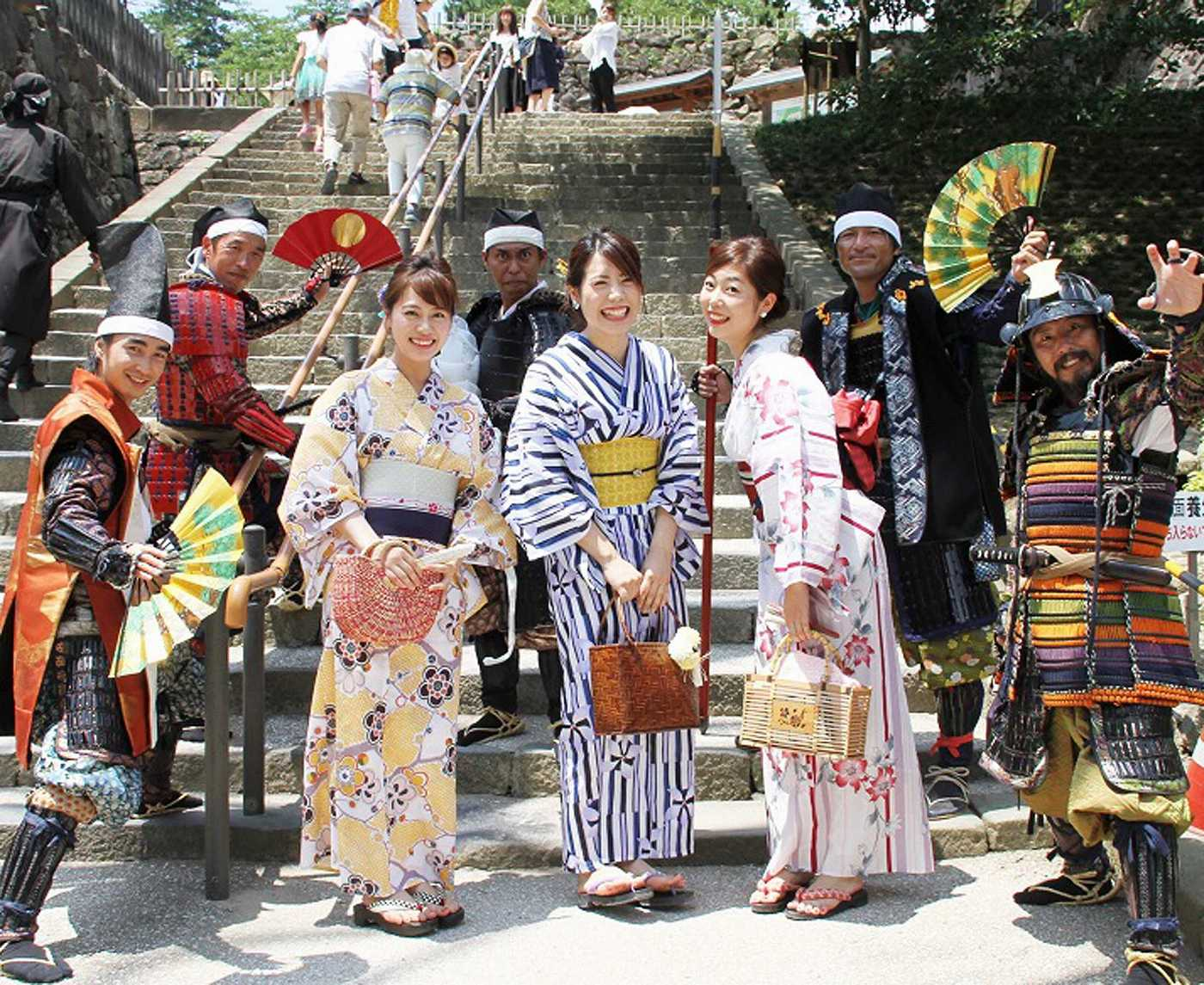 Rental Kimono and city strolling
