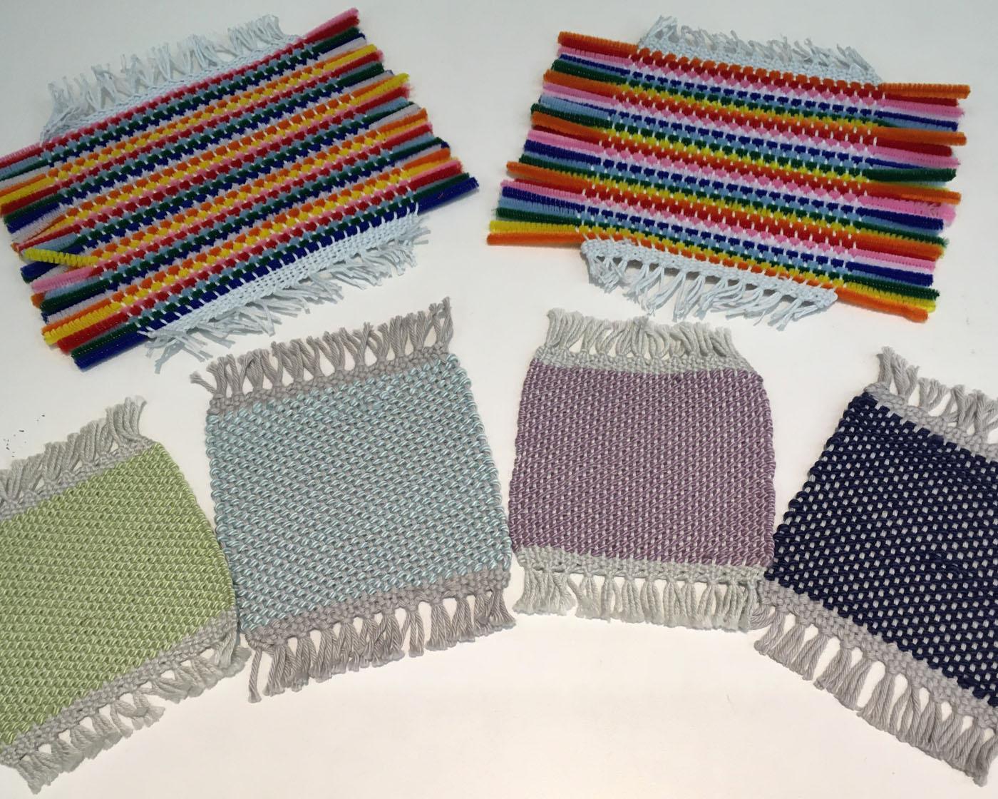 Coaster weaving